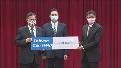 援助印度!台灣捐2千萬醫療物資、150台製氧機