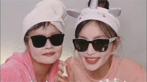 謝金燕偕71歲母親拍影片獻上祝福 大玩砸蛋糕