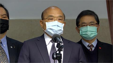 快新聞/250萬劑美援疫苗順利抵台 蘇貞昌揭「後續任務」:感謝所有辛苦同仁
