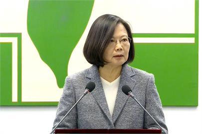 快新聞/蔡英文:維持綠電穩定供應是大挑戰 必須建構國家隊
