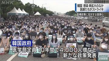 雪上加霜!南韓疫情又爆炸  數千實習醫生罷工 國會關閉消毒