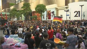 警出動水砲車.催淚瓦斯驅趕!泰國示威55人受傷.6人中彈