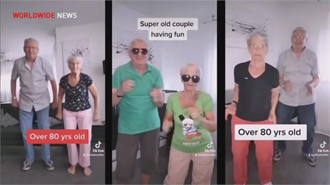 德國81歲舞棍阿嬤 以跳舞.運動片成網紅
