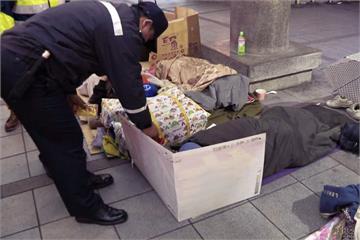 天冷心不冷 北市社會局這樣照顧街友