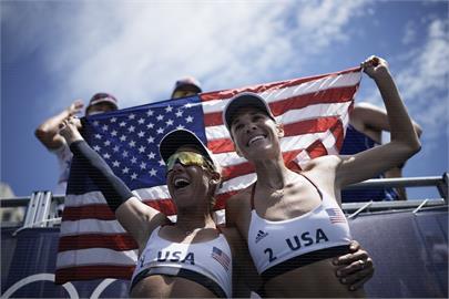 東奧/連3屆奧運不同搭檔都摘牌!美沙灘排球女將「金銀銅」全到手