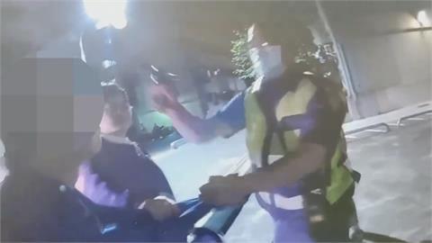 調解糾紛竟襲警 男持工地帽狂毆遭逮