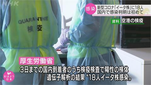 快新聞/日本首度發現Eta變異株 已知18人感染