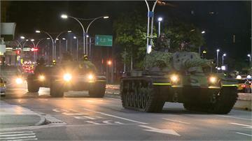 國軍「戰備月」演練 CM11勇虎式戰車開上街