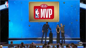 NBA頒發年度獎項 公鹿字母哥獲MVP殊榮