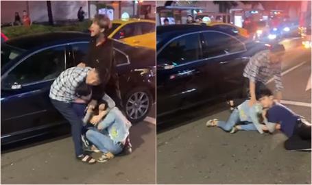 「你給我道歉!」台北男跳針飆罵 10幾次「頭槌」抓女撞車門惹怒網友