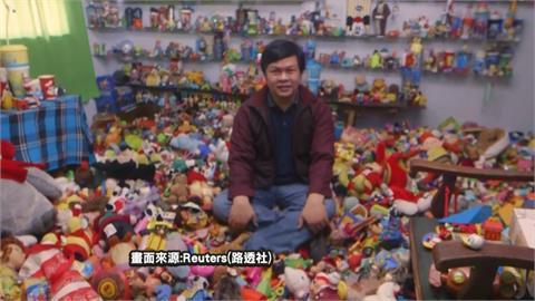 收藏2萬個速食餐廳玩具 菲國設計師破金氏紀錄