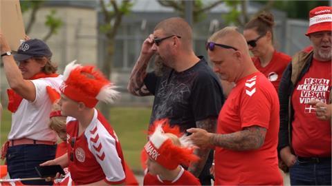 丹麥止於歐國盃四強 球員歸國獲英雄式歡迎