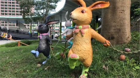 宜蘭又有新景點!礁溪轉運站至溫泉公園又新設29個「幾米兔子裝置藝術」