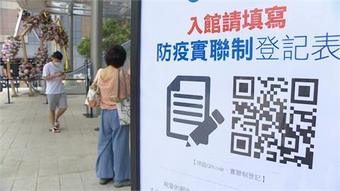 入口登記不夠 百貨加碼「二次實聯制」逛百貨櫃位、餐廳須再登記