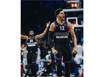 NBA/哈里斯轟37分擊退巫師 76人季後賽首輪拔頭籌