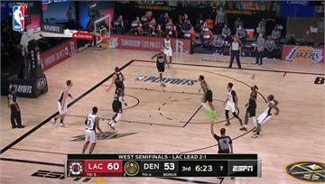 NBA西區季後賽第二輪 快艇拿下聽牌第三勝