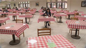 防疫做好做滿!行政院員工餐廳動線設社交距離、改單人雅座