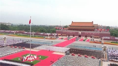 中共百年黨慶登場 習近平擺大陣仗宣揚國威