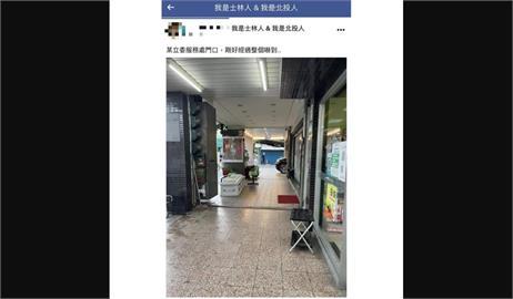 快新聞/立委何志偉服務處門口遭放棺材!路過民眾嚇壞