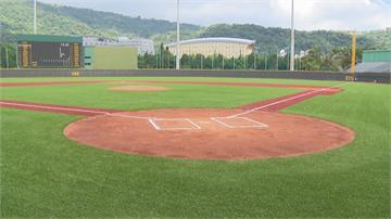 全台唯一人工草皮棒球場天母球場改裝後正式亮相