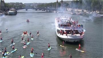 熱浪襲法國 巴黎市民照常白天戶外運動