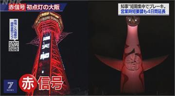 大阪疫情預警亮紅燈 籲民眾至月中盡量別外出