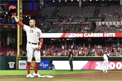 MLB/沃托生涯兩千安達陣 紅人送小熊12連敗