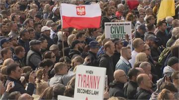 英祭新防疫禁令 民眾抗議爆衝突