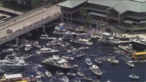 史坦利盃奪冠「游」行 大小船隻擠滿河道