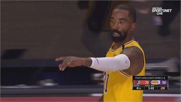 NBA季後賽湖人擊敗拓荒者 公鹿扳平魔術