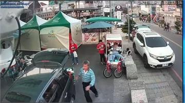 假遊客真搶車!南投集集農夫爆當街劫車車主驚險追車被甩落 偷車賊台中落網