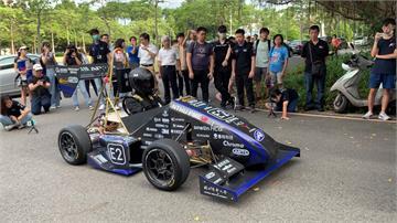 加速度直逼特斯拉!清大動機系打造首輛四輪驅動電動賽車