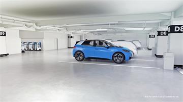 電動車不怕沒電!福斯研發機器人充電系統