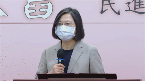 快新聞/民進黨創黨35周年 蔡英文盼:帶領台灣走向更尊嚴、自主的方向