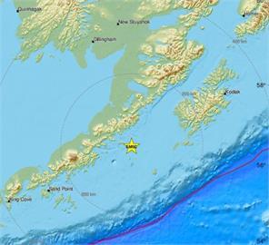 快新聞/阿拉斯加規模6.8強震 目前無海嘯威脅