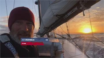 旺代單人環球帆船賽 參賽者海上迎新年
