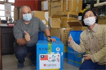 快新聞/援助西西里島! 10天募得10萬片口罩 義大利神父歐大福:台灣人真的很有愛心