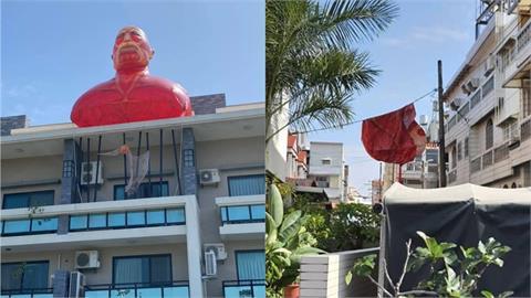 台南民宅驚見「進擊的巨人」!超夯景點不到1天遭「強風吹落」