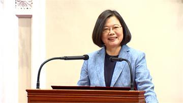 蔡總統感謝護理師 宣布擴大醫護人員獎勵津貼
