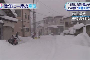 強烈低氣壓肆虐 東京低溫恐跌破史上紀錄