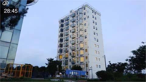 厲害了中國!只花28小時蓋好10樓公寓 驚呆台網友:誰敢住?