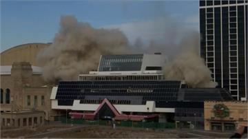 賭場停業年久失修 新澤西州爆破39樓「川普廣場」