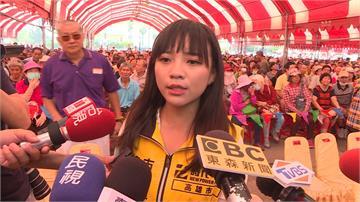 與韓國瑜同場出席敬老活動 黃捷遭民眾辱罵「垃圾」