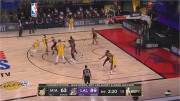 NBA總冠軍賽開打!首戰湖人大勝熱火2主將受傷提早退場