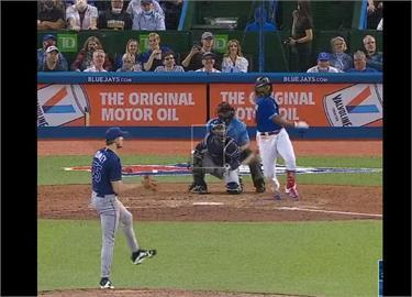 MLB/小葛雷諾45轟擠下大谷獨居全壘打王 藍鳥勝光芒