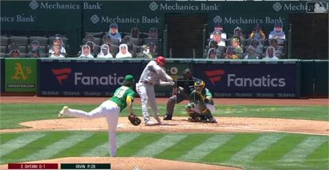 MLB/大谷翔平開轟又盜壘 天使卻4比8敗給運動家