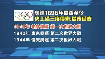 若東京奧運延賽 將創逾百年歷史頭一遭