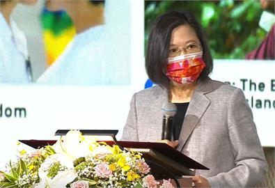 快新聞/參加文協百年紀念會 蔡英文感念前人付出:台灣是台灣人的台灣