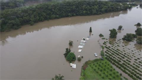 澳洲50年大洪水 新南威爾斯省將撤3萬多人