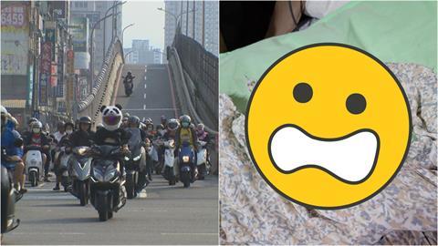 妹子騎車穿長裙險釀意外 網曝經驗「好心被雷親」:提醒對方還被瞪!